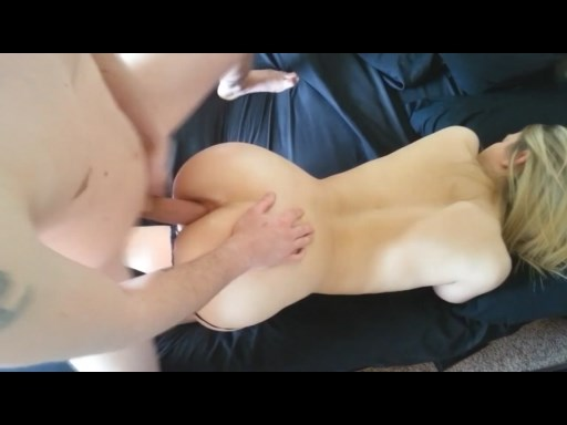 Blonde GF analy fucked