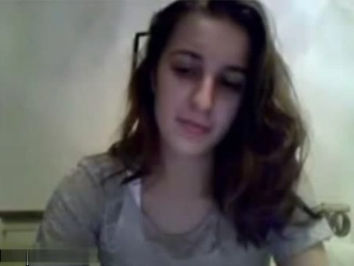 Beautiful teen bates on Chatroulette
