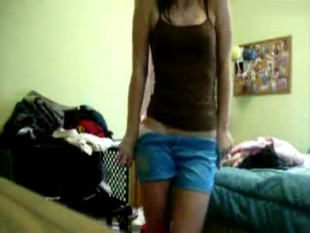 Self -shot cutie stripping and fingering